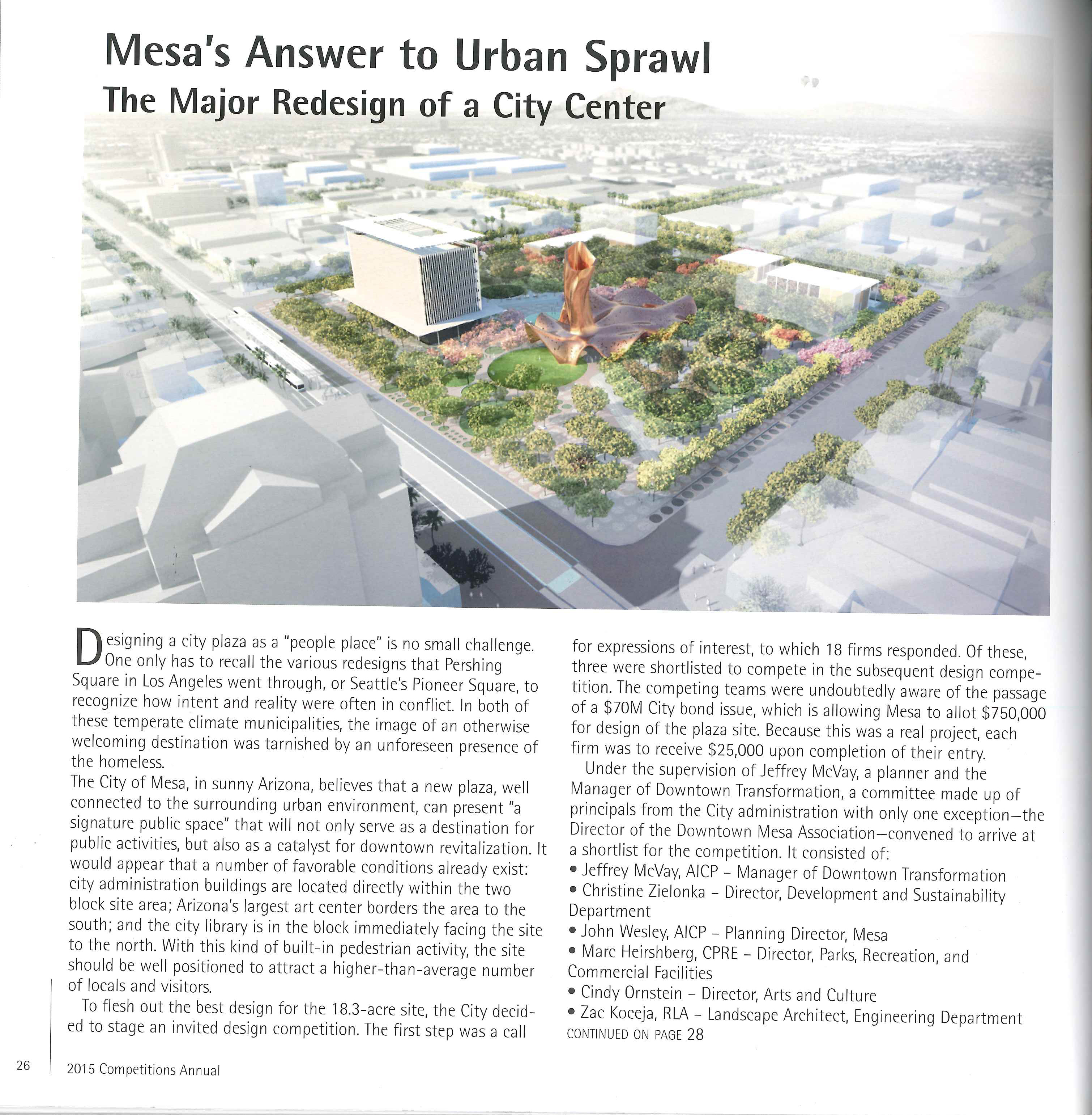 Mesa's Answer to Urban Sprawl- Page 1