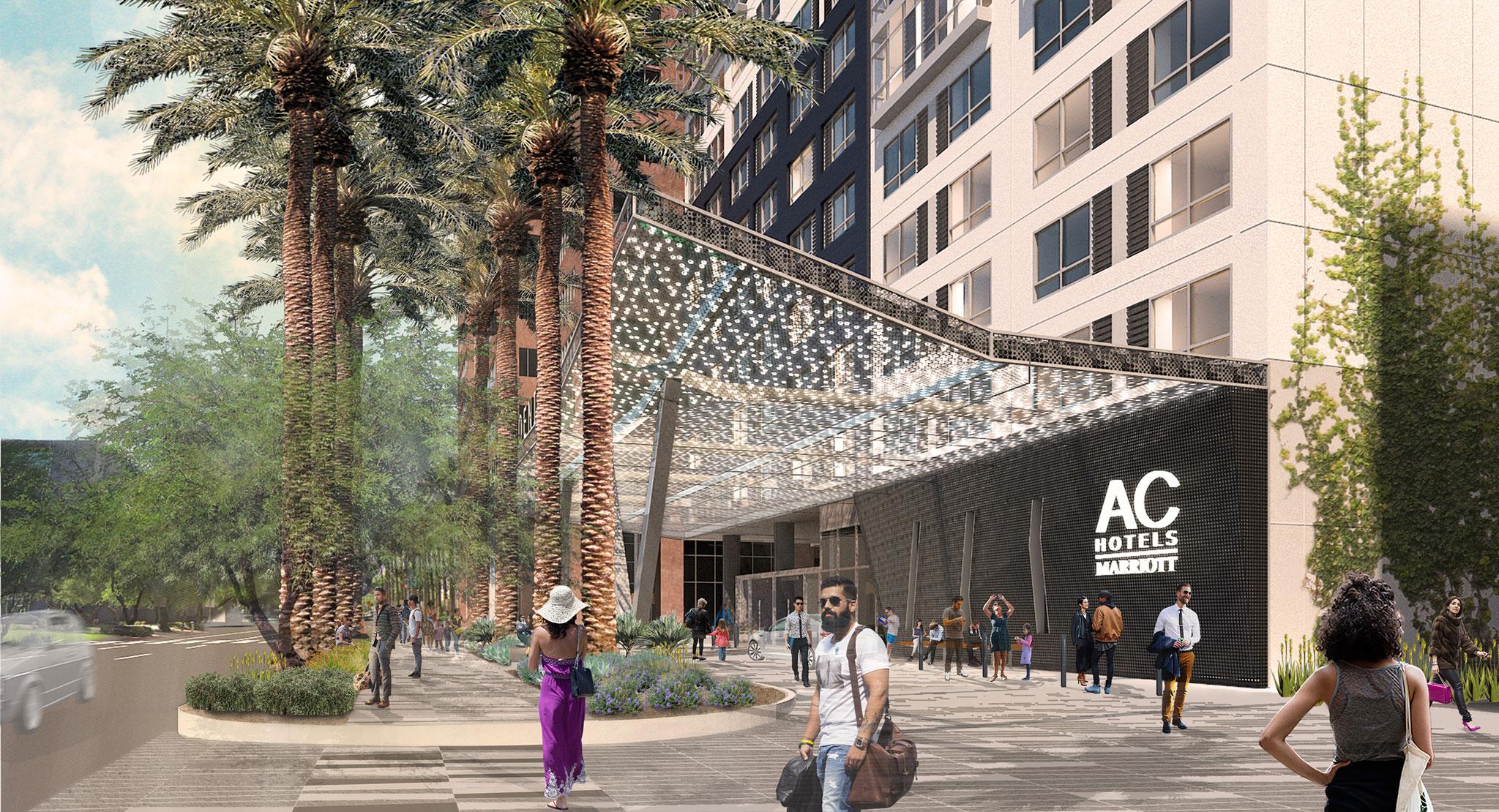 AC Mariott Hotel at Arizona Center