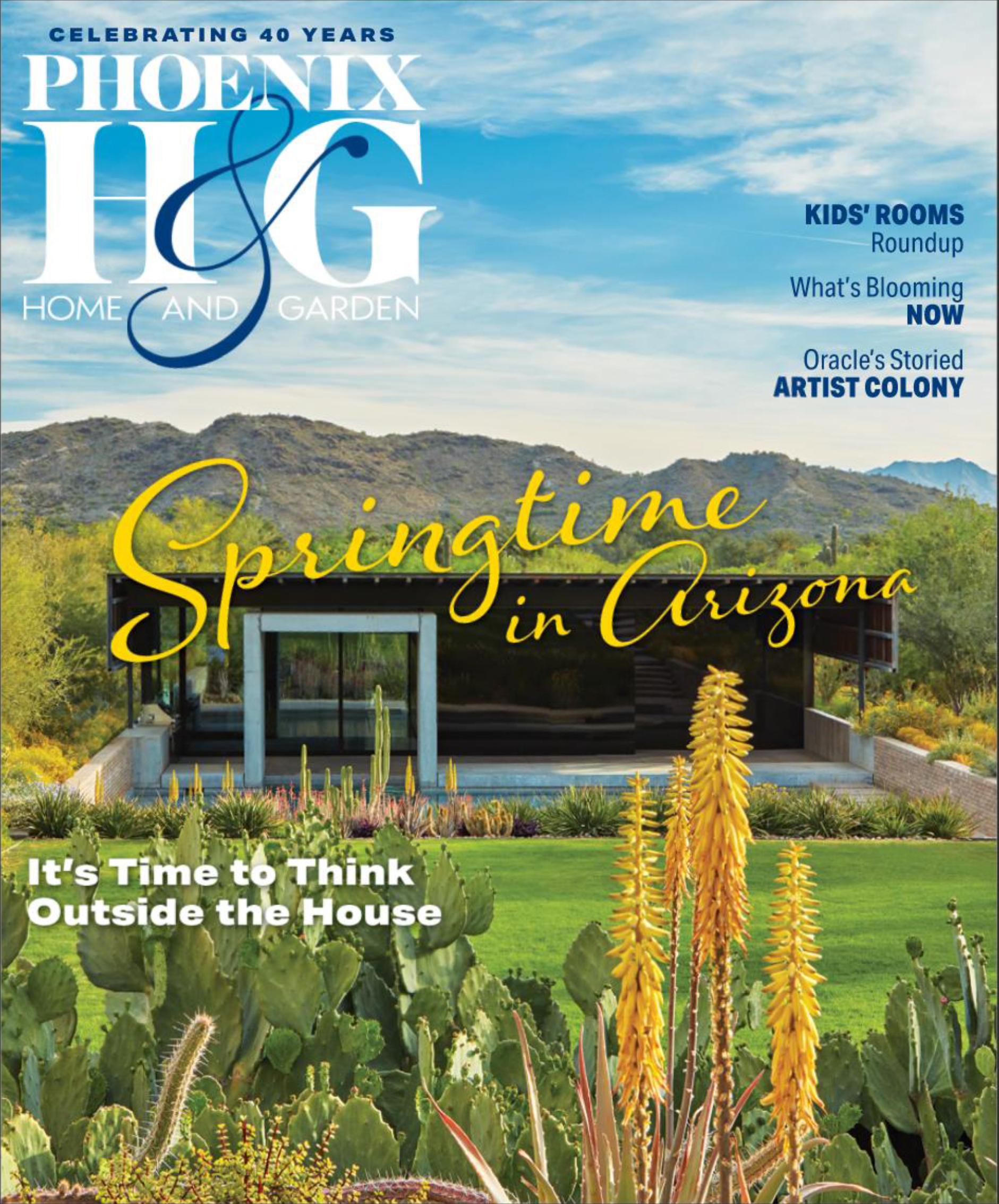 Phoenix Home & Garden: Springtime in Arizona